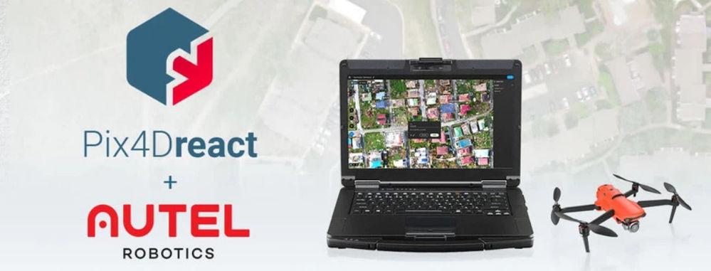 Nuovo pacchetto Autel + Pix4Dreact per la sicurezza pubblica